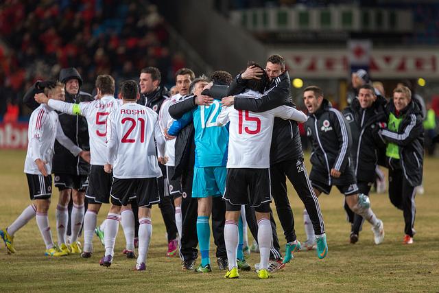 Zyrtare  miqësorja Shqipëri   Norvegji  më 14 nëntor në  Elbasan Arena