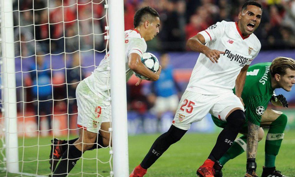 Përmbysje  çmendur  e Sevillas kualifikohet Reali i Madridit  Napoli mban gjallë shpresat