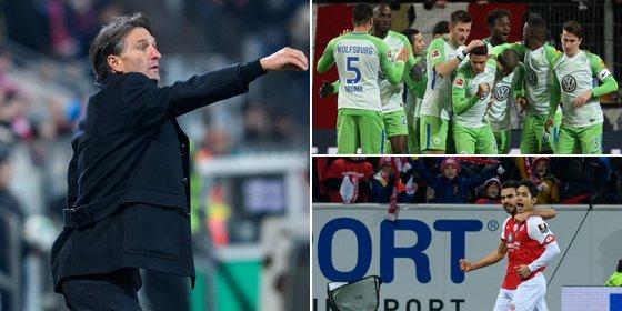 Mainz Wolfsburg  kënaqen me nga një pikë