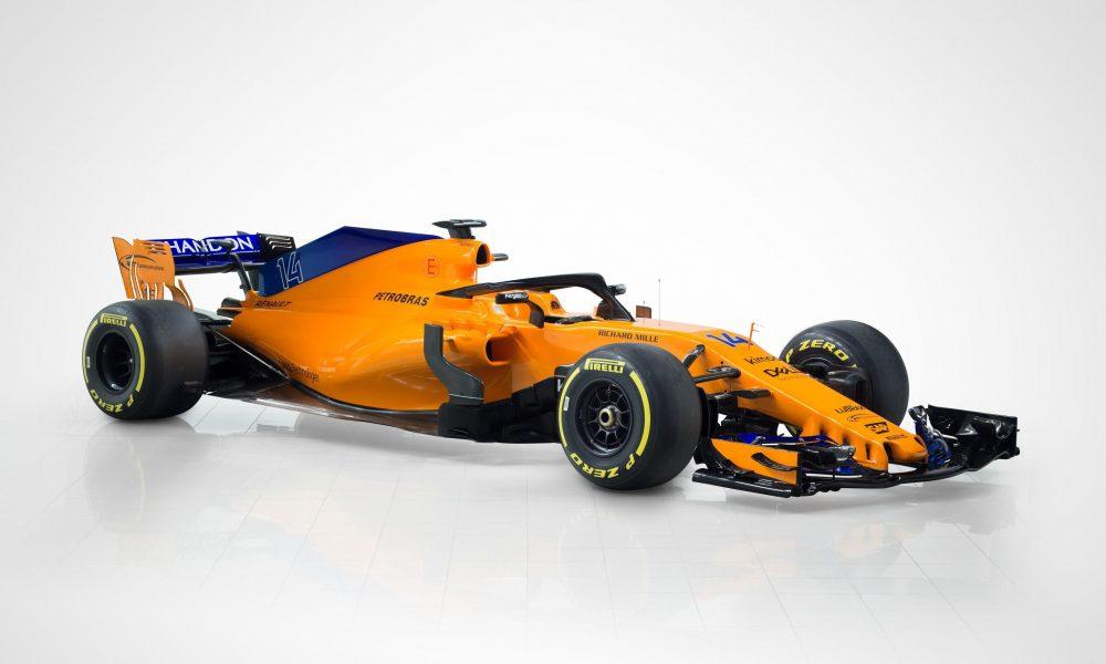 Prezantohet edhe McLaren  dominon portokallia